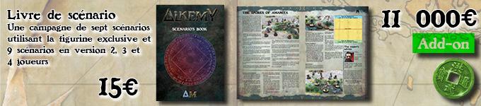[Alkemy] Kickstarter Alkemy Sg-01-scenario-book